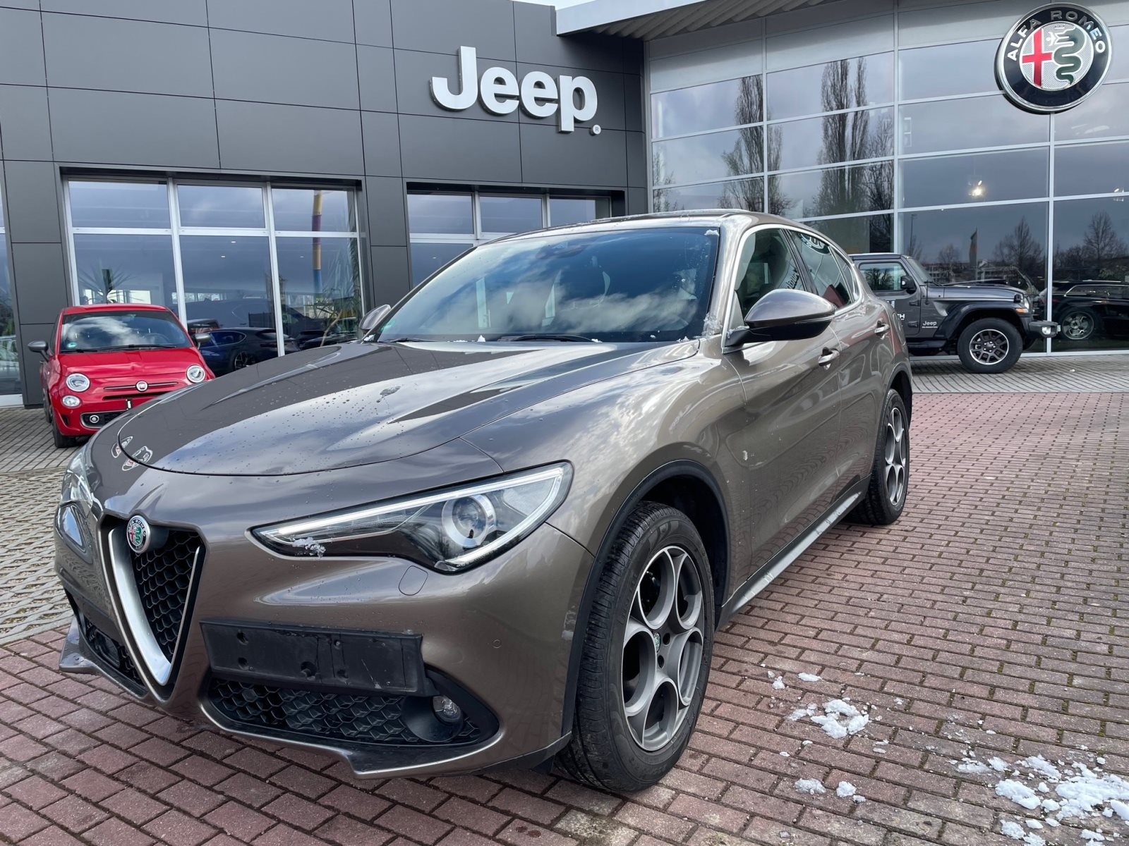 Alfa Romeo Stelvio Super Q4 210PS, Jahr 2018, Diesel