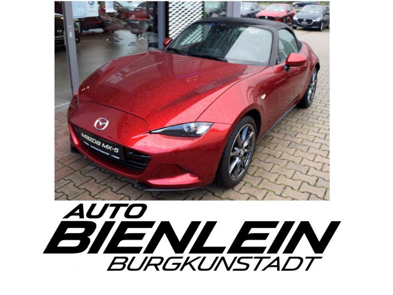 Mazda MX-5 Roadster 2.0 184PS Sports-Line Bose Matrix-LED Navi uvm., Jahr 2019, Benzin