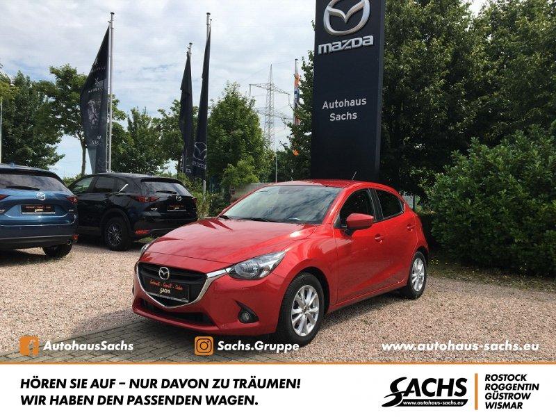 Mazda 2 SKYACTIV-G 90 EXCLUSIVE-LINE + TOURING-PAK, Jahr 2015, Benzin