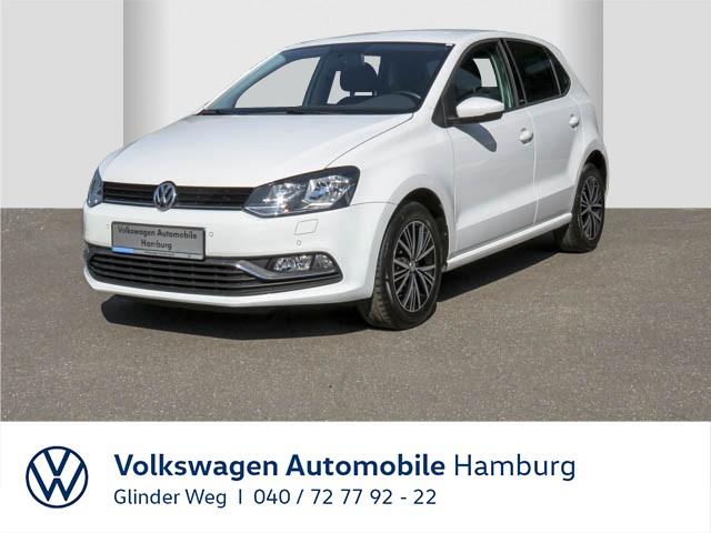 Volkswagen Polo 1.0 Allstar / Einparkhilfe, Jahr 2016, Benzin