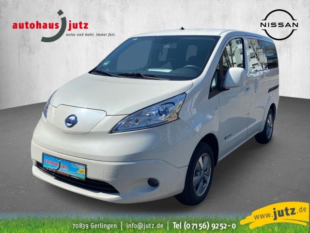 Nissan NV200 e-NV200 Evalia 7 Sitze Navi Keyless Rückfahrkam. Multif.Lenkrad RDC Klimaautom SHZ, Jahr 2019, Elektro