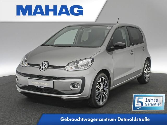 Volkswagen up! IQ.DRIVE 4doors 1.0 maps+moreDock Kamera Sitzhz. Climatronic ParkPilot 16Zoll 5-Gang, Jahr 2019, Benzin