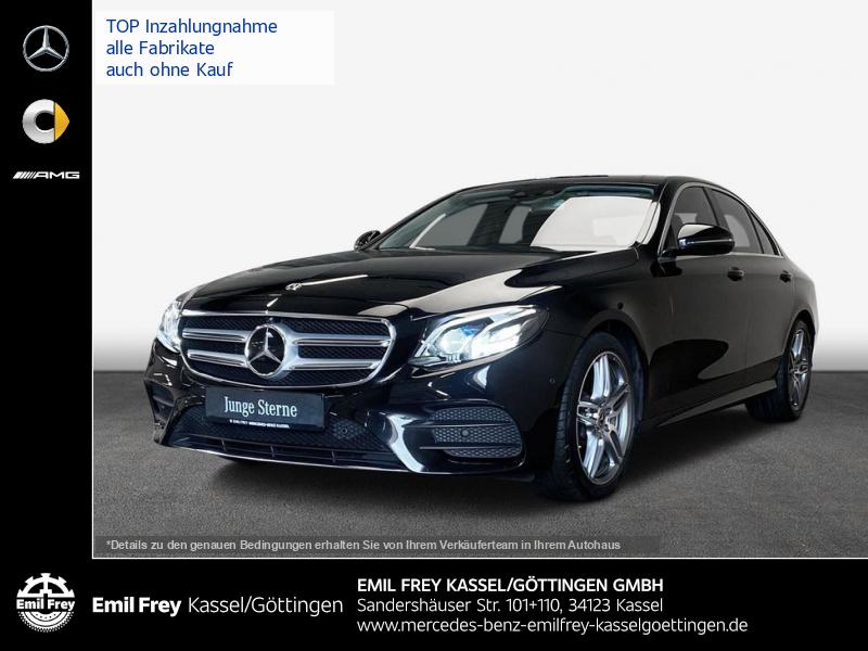 Mercedes-Benz E 400 4M AMG+Multibeam+COMAND+Park+Kam+Distr+Schbd, Jahr 2017, Benzin