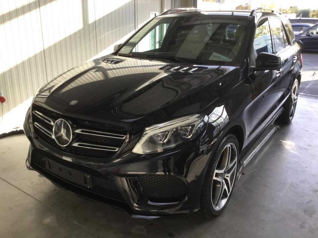 Mercedes-Benz GLE 500 4M AMG 21 Zoll Airmatic Distronic 360°, Jahr 2015, petrol