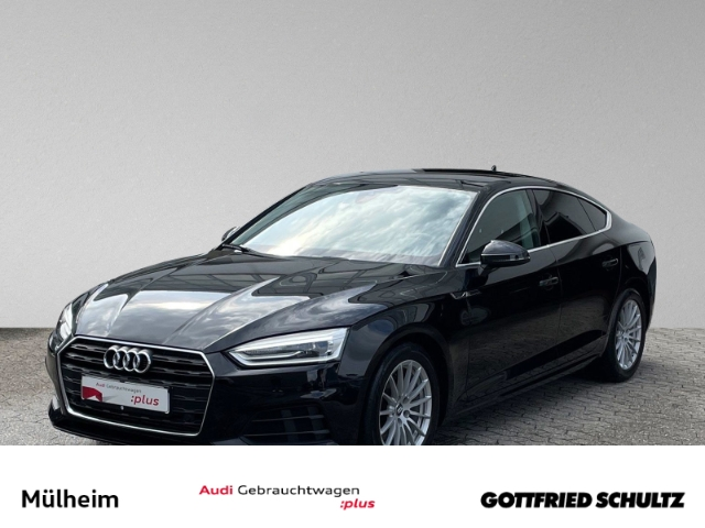 Audi A5 Sportback 2.0 TFSI S-tronic XENON KEYLESS NAVI EPH SIH, Jahr 2018, Benzin