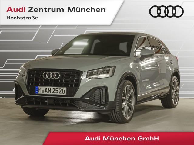 """Audi Q2 35 TFSI S line Virtual LED Navi Leder R-Kamera 19"""" S tronic, Jahr 2021, petrol"""