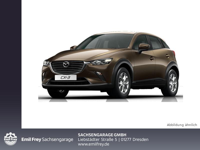 Mazda CX-3 SKYACTIV-G 120 FWD Exclusive-Line, Jahr 2017, Benzin