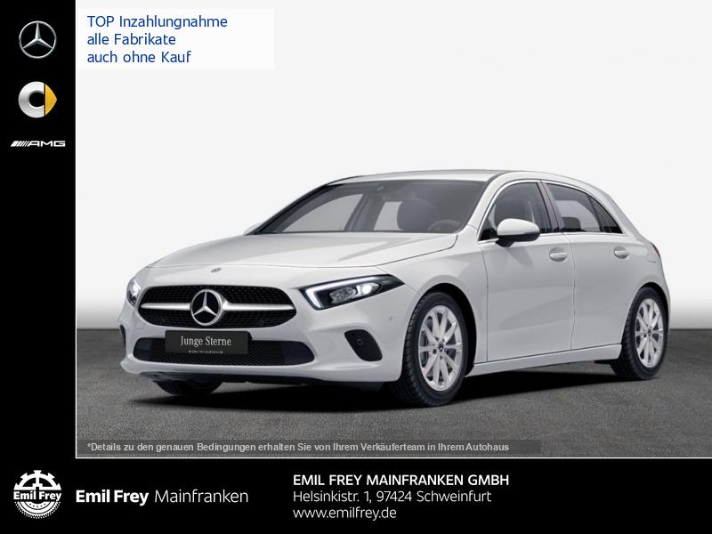 Mercedes-Benz A 220 Progressive MBUX Nav Premium Spurassist LED, Jahr 2019, Benzin