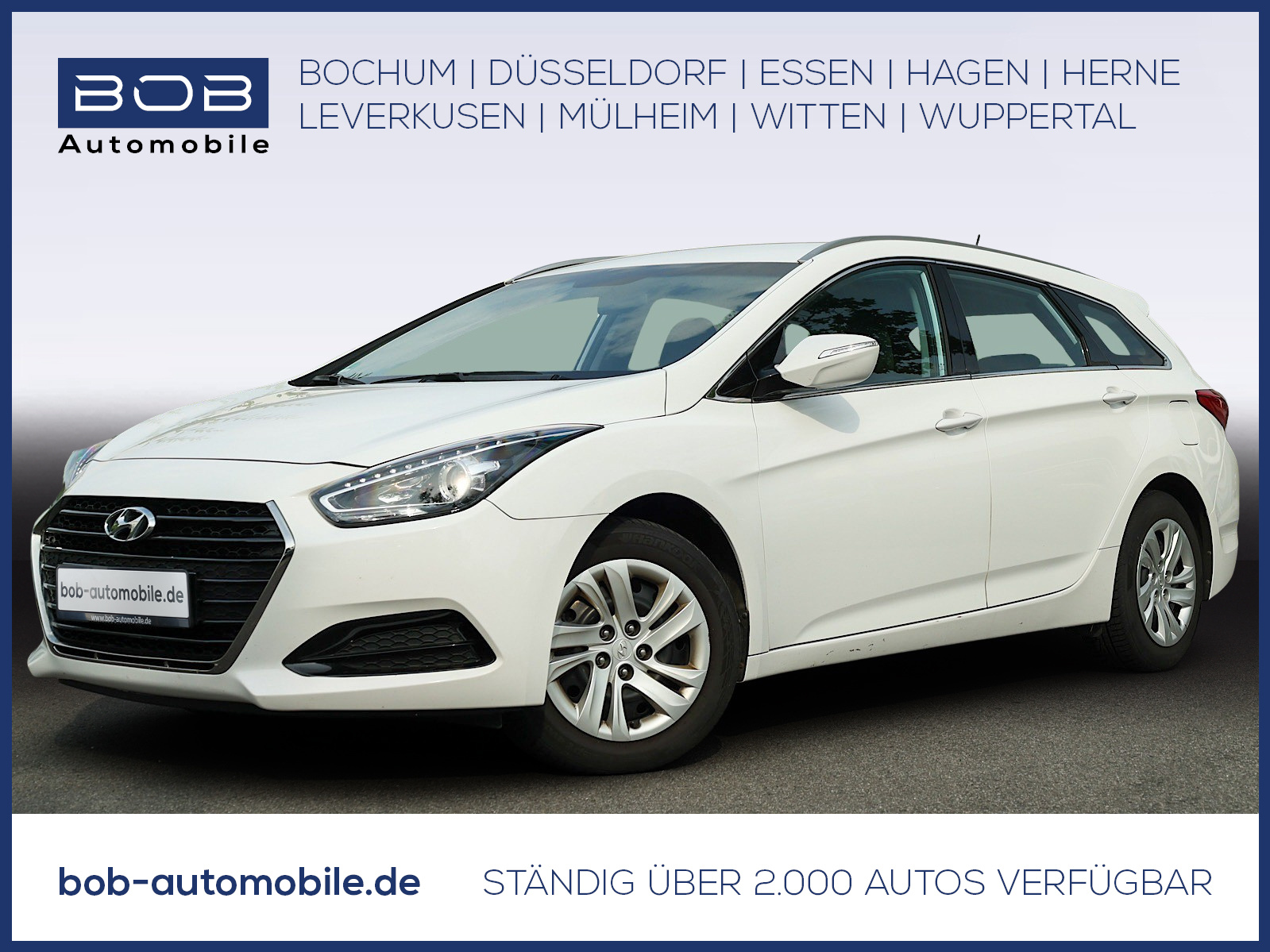 Hyundai i40 Klima,Bluetooth, Jahr 2016, Benzin