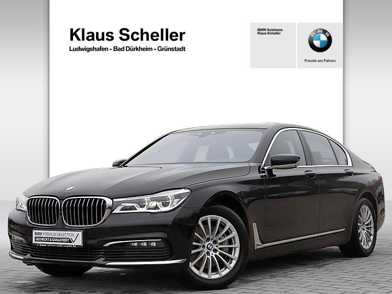 BMW 730d xDrive Limousine Gestiksteuerung Head-Up, Jahr 2017, Diesel