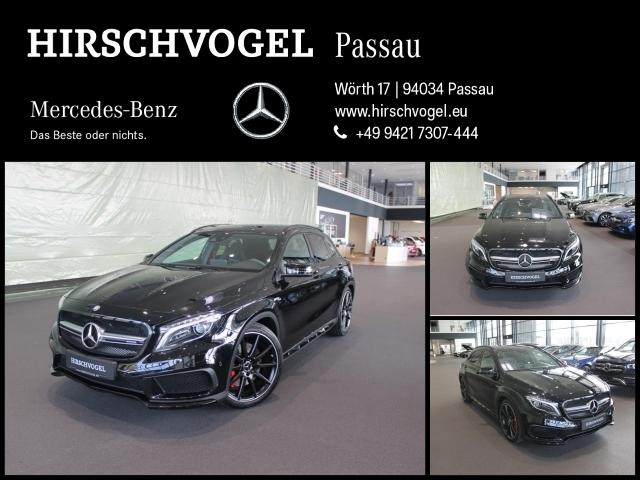 Mercedes-Benz GLA 45 AMG 4M Night+Navi+ILS+Kam+PDC+EASY-PACK, Jahr 2015, Benzin
