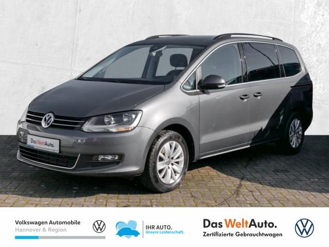 Volkswagen Sharan 1.4 TSI DSG DPF Comfortline 7Sitze Navi Klima BlindSpot, Jahr 2020, Benzin
