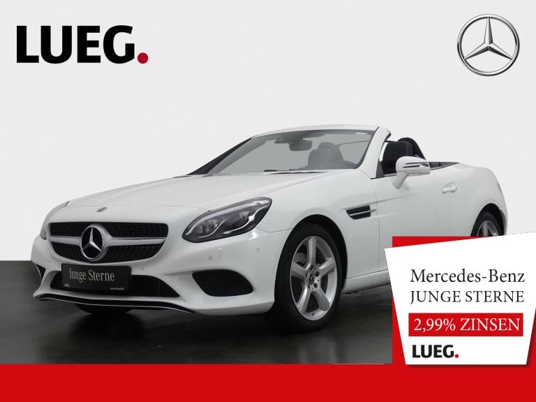 Mercedes-Benz SLC 180 Navi+Pano+LED+SHZ+Totw+AIRSCARF+Kamera++, Jahr 2019, Benzin