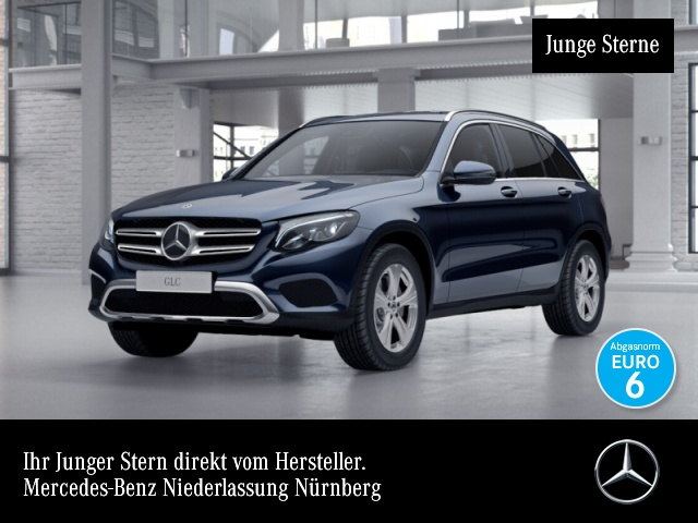 Mercedes-Benz GLC 220 d 4M Exclusive Fahrass Distr. COMAND LED, Jahr 2016, Diesel