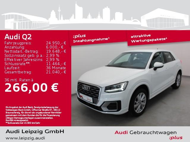 Audi Q2 1.4 TFSI sport *LED*Navi*Standhzg*, Jahr 2018, Benzin