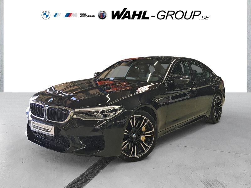 BMW M5 Limousine Gestik Vollleder Merino Night Vision DAB, Jahr 2018, Benzin
