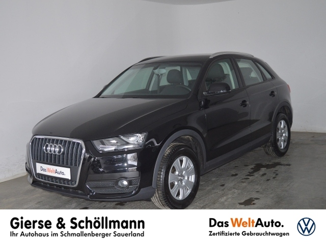 Audi Q3 1.4 TFSI AHK+EPH+KLIMAAUTO+LICHT-/REGENSENSOR, Jahr 2014, Benzin