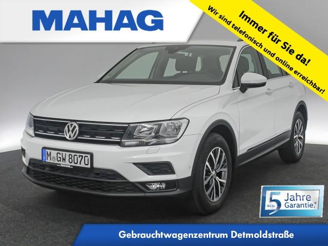 Volkswagen Tiguan 1.5 TSI Comfortline Kamera Sitzhz. ParkAssist LaneAssist LightAssist FrontAssist 17Zoll 6-Gang, Jahr 2020, Benzin