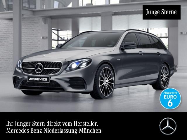 Mercedes-Benz E 43 AMG T 4M Fahrass.COMAND.Night.Burmester, Jahr 2017, Benzin