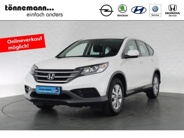Honda CR-V COMFORT+NOTBREMSASSISTENT+LED-TAGFAHRLICHT+TEMPOMAT+KLIMAAUTOMATIK, Jahr 2014, Benzin