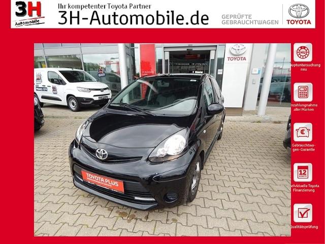 Toyota Aygo Cool &Go*Lm-Felgen*Klima*Isofix*, Jahr 2013, Benzin