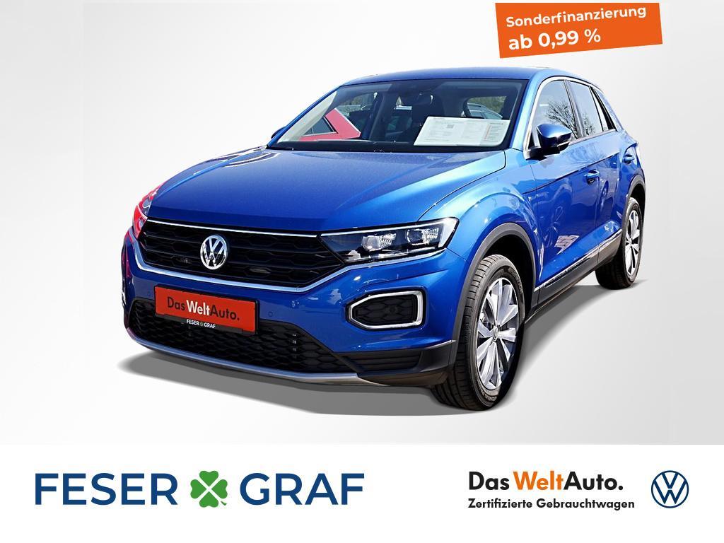 Volkswagen T-Roc Style 1.5 TSI DSG Navi LED STHZ Kamera, Jahr 2019, Benzin
