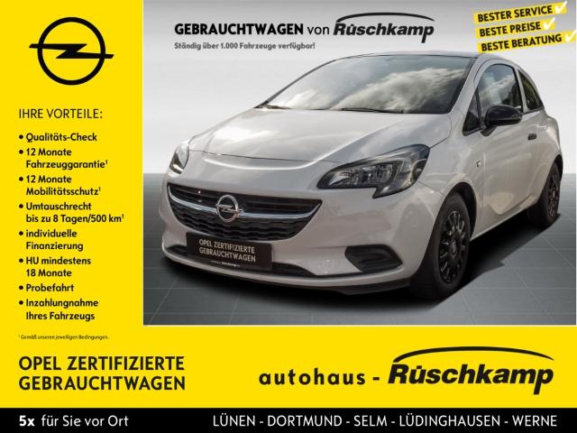 Opel Corsa E Selection 1.2 RDC Klima R Black line Paket, Jahr 2016, Benzin