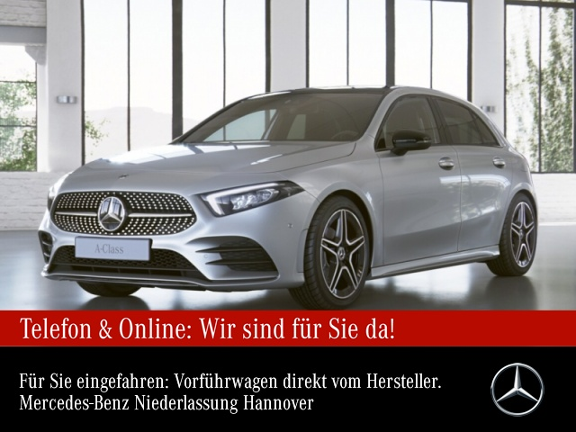Mercedes-Benz A 180 AMG Pano Navi Premium LED Night Kamera PTS, Jahr 2020, Benzin
