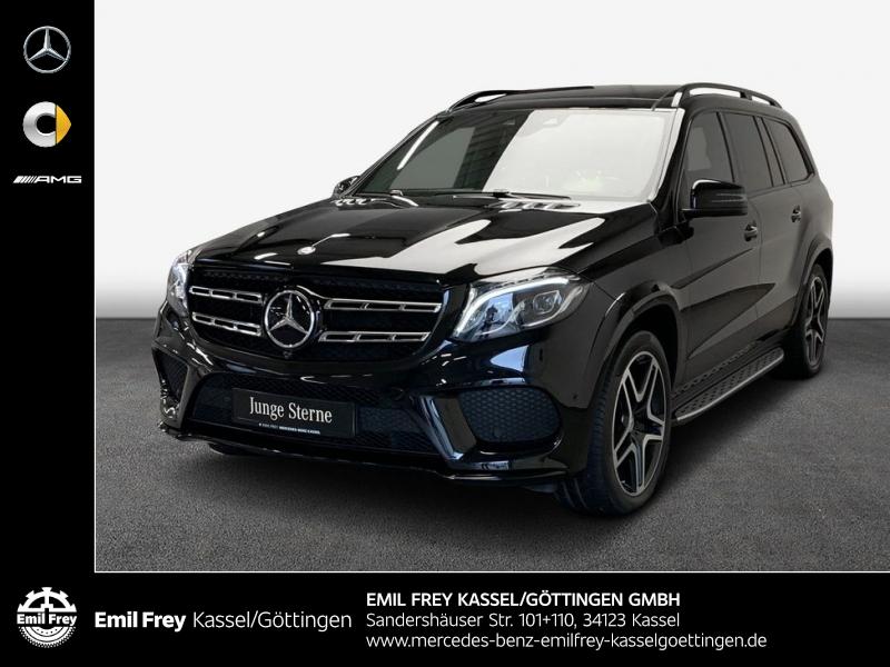 Mercedes-Benz GLS 500 4M AMG+Night+PANO+Standhz+AHK+HeadUp, Jahr 2017, Benzin
