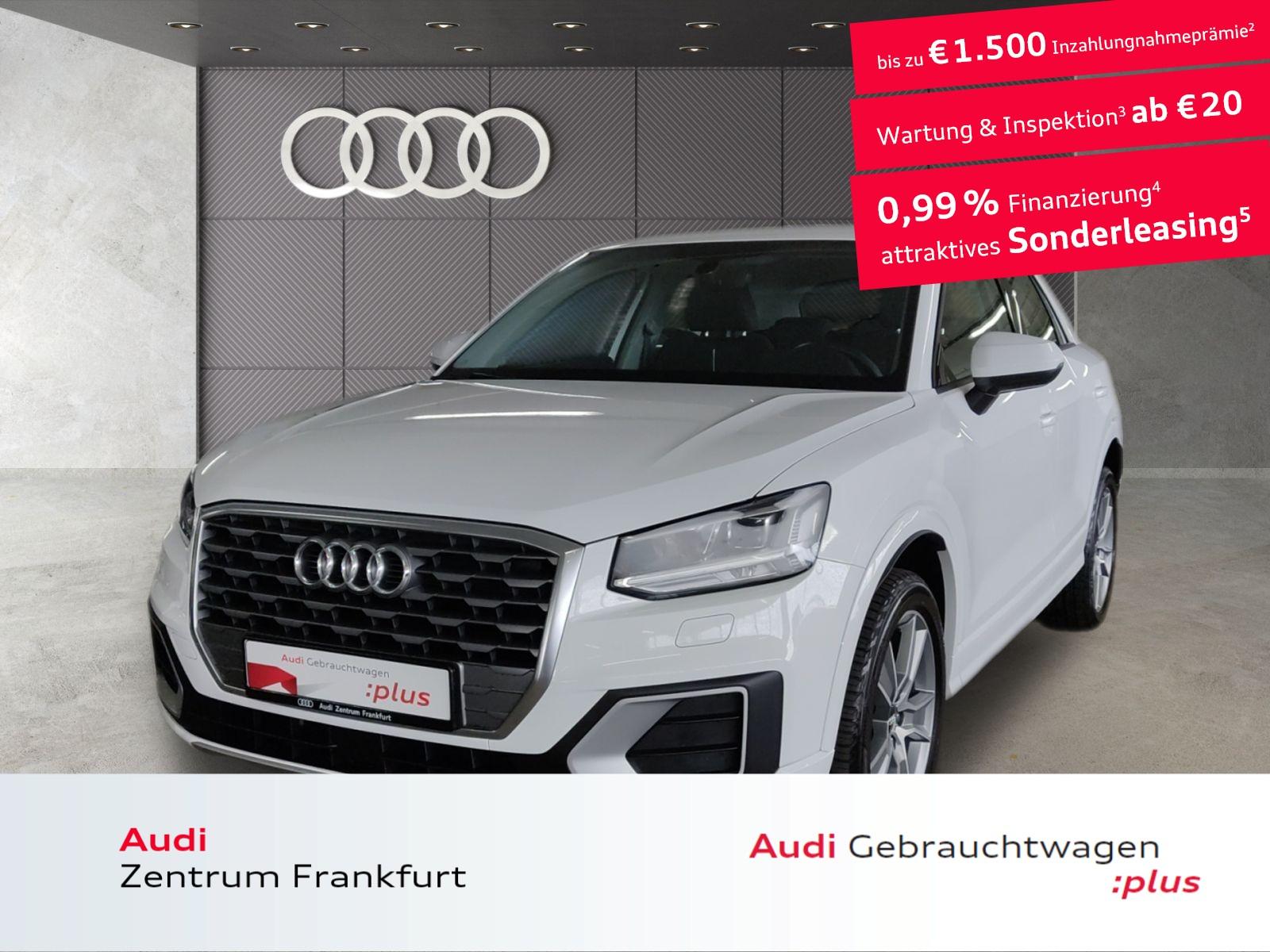Audi Q2 30 TFSI sport LED Navi DAB Tempomat PDC Sitzheizung, Jahr 2020, Benzin