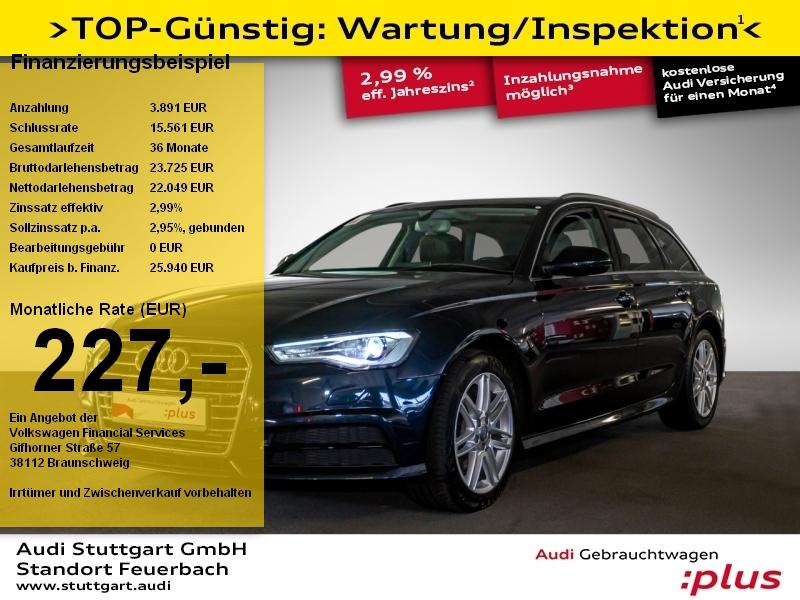 Audi A6 Avant 1.8 TFSI S-tronic Xenon Navi AHK Memory, Jahr 2018, Benzin