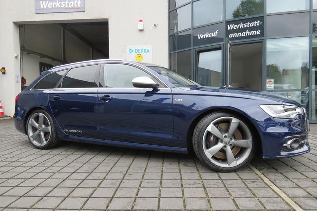 Audi S6 Avant 4.0 TFSI Qu PANO/AHK/STDHZG/ACC/MATRIX, Jahr 2014, Benzin
