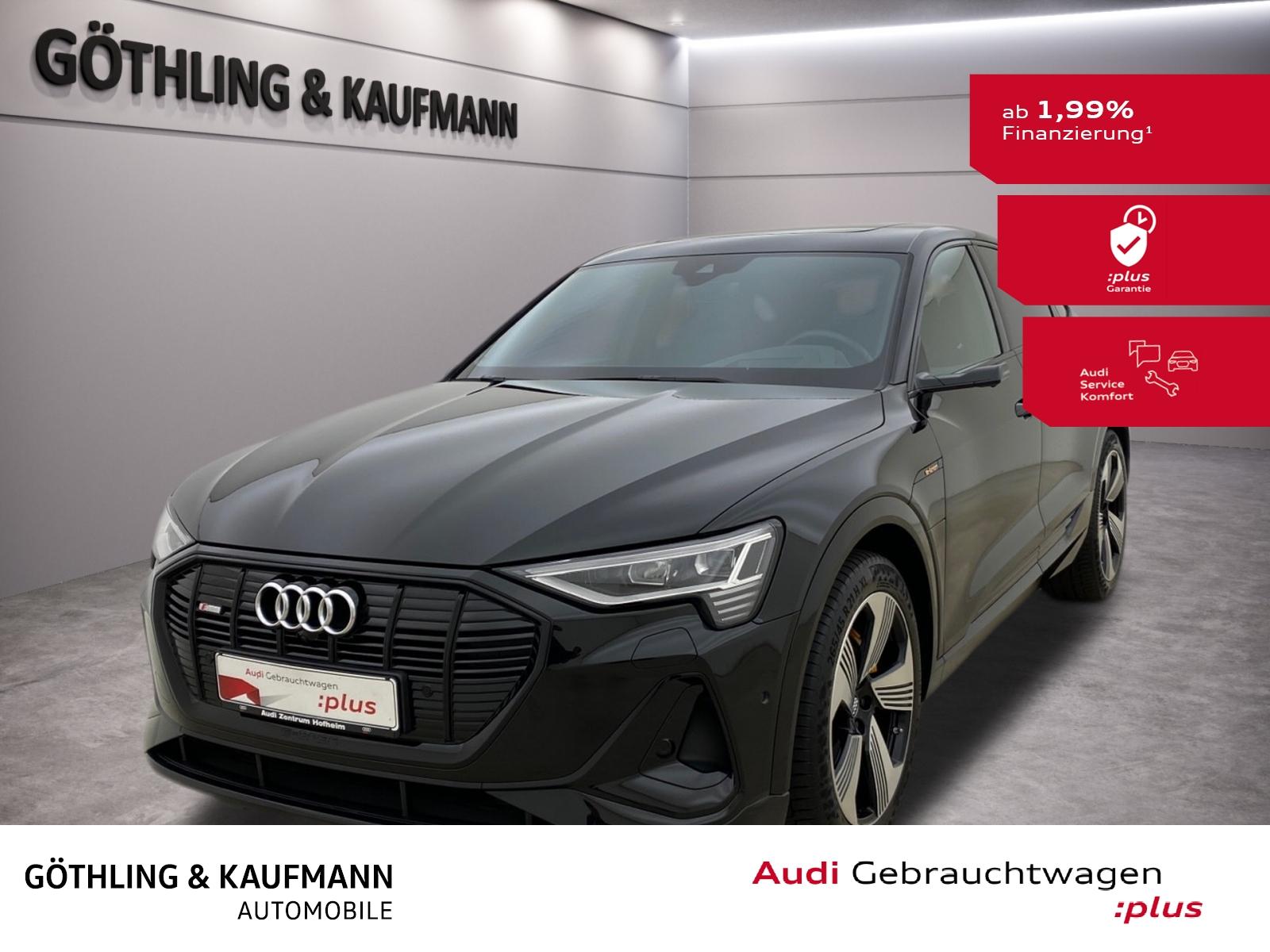 Audi e-tron Sportback 55 S line qu. EUPE 114925*SSitz, Jahr 2020, Elektro