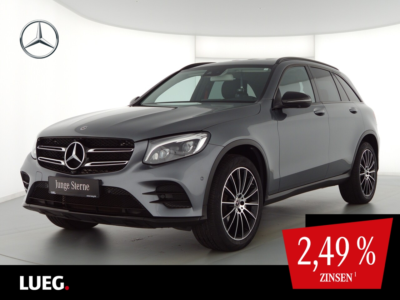 Mercedes-Benz GLC 300 4M AMG+COM+LED-ILS+20+Airm+Sthzg+Mem+360, Jahr 2017, Benzin