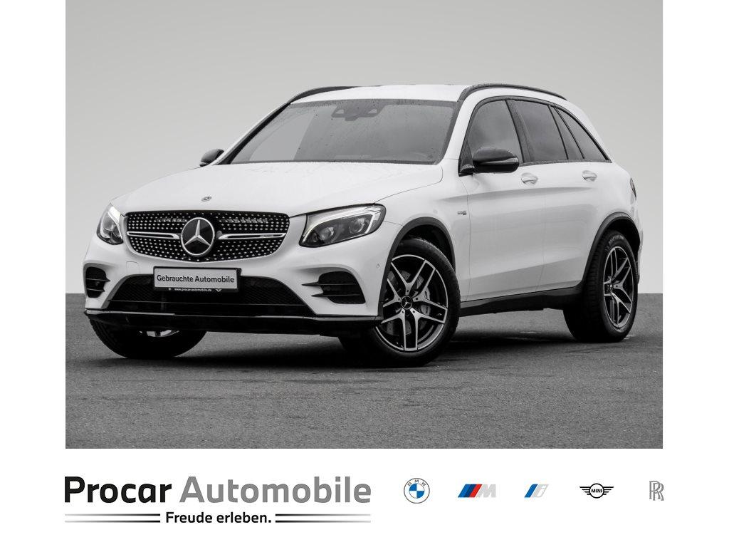 Mercedes-Benz GLC 43 AMG Leder Navi LED DAB LED RFK Tempomat, Jahr 2019, Benzin