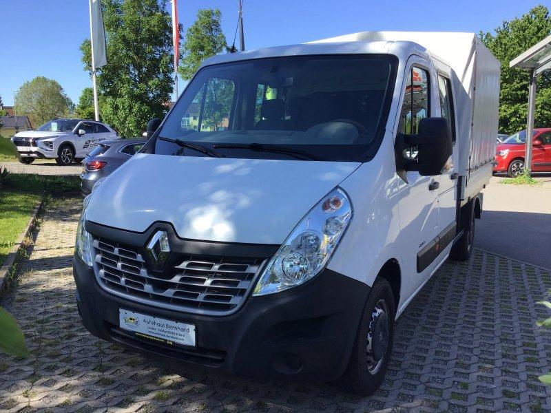 Renault Master Doppelkabine 3,5t dCi 125 FAP L2H1 Pritsche, Jahr 2015, Diesel