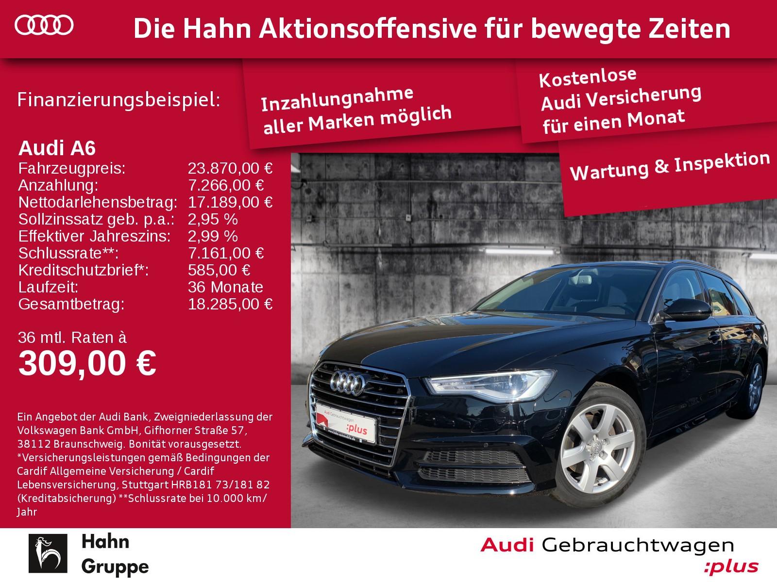 Audi A6 Avant 2.0TDI Ultra S-trc Navi+ SitzH EinparkH, Jahr 2017, Diesel