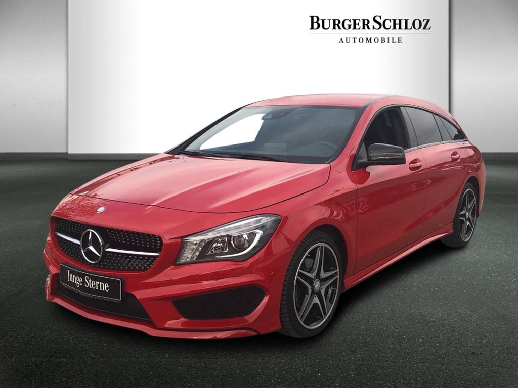 Mercedes-Benz CLA 180 Shooting Brake AMG/Night/LED/Navi/PDC, Jahr 2015, Benzin