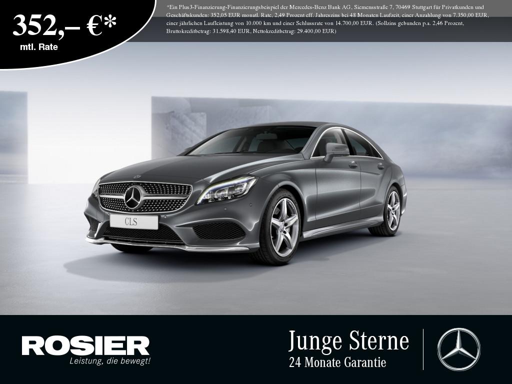 Mercedes-Benz CLS 350 d AMG Line, Jahr 2016, Diesel