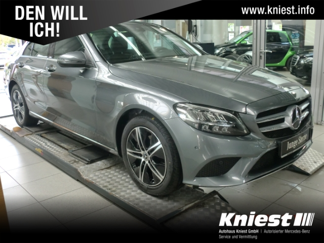 Mercedes-Benz C 180 Avantgarde+Navi+SHD+LED+Kamera+Spiegel-P mit Totwi., Jahr 2020, Benzin