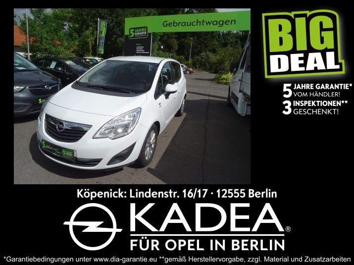Opel Meriva B 1.4 Active Klima Sitz-,Lenkradhzg, PDC, Jahr 2013, Benzin