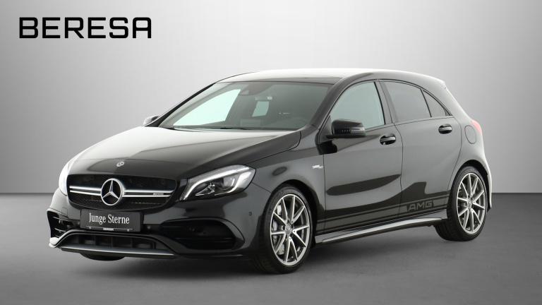 Mercedes-Benz A 45 AMG 4M Pano. Perf. AbGas Comand Gurte rot, Jahr 2017, Benzin