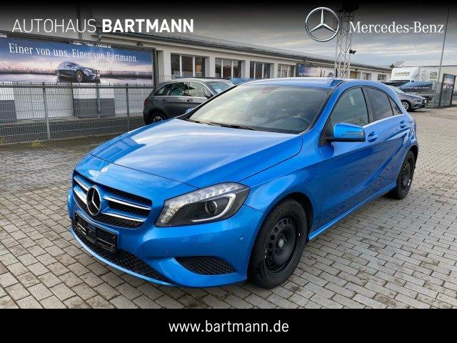 Mercedes-Benz A 180 Style +NAVI+KLIMA+SZH+ Navi/Klima/Xenon, Jahr 2013, Benzin