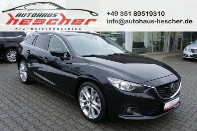 Mazda 6 Kombi 2,2 CD SKYACTIV-D150 Sports-Line*AHK*EU6, Jahr 2013, Diesel