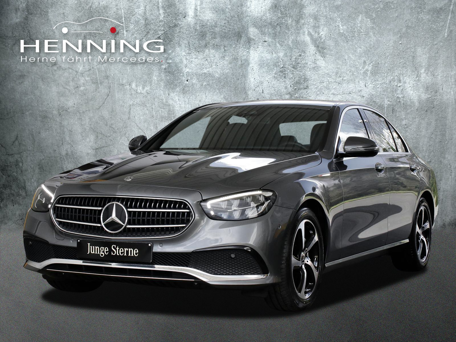 Mercedes-Benz E 200 Avantgarde 9G Widescreen Totw. MBUX High, Jahr 2020, Benzin