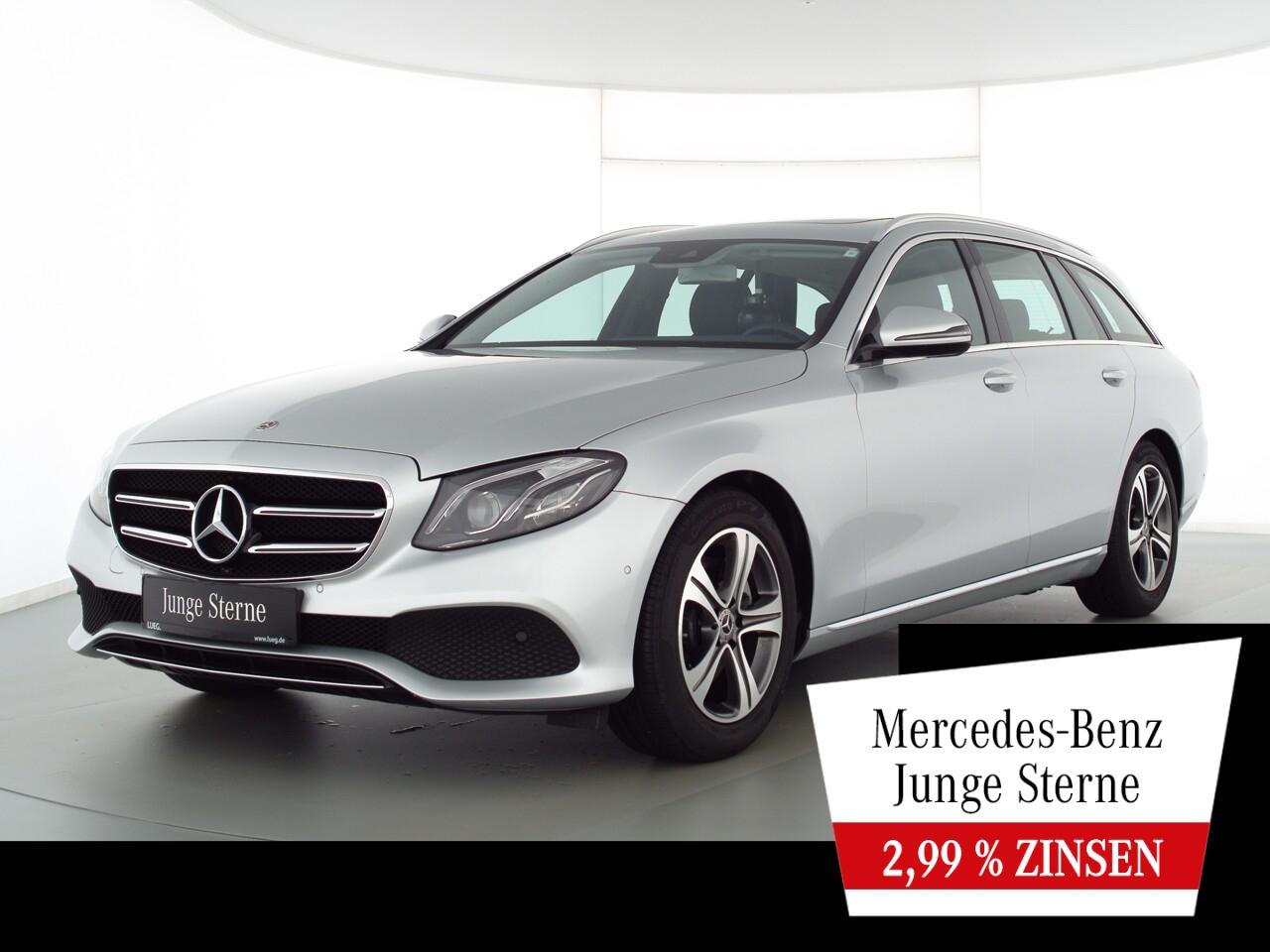 Mercedes-Benz E 200 T Avantgarde+Nav+SHD+Mbeam+Totw+ParkAssist, Jahr 2019, Benzin