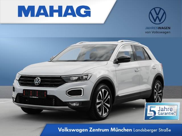 Volkswagen T-Roc 2.0 TDI UNITED Navi LED AHK DigitalCockpitPro Kamera Sportfw. eKlappe ParkPilot FahrerAssist 17Zoll DSG, Jahr 2021, Diesel