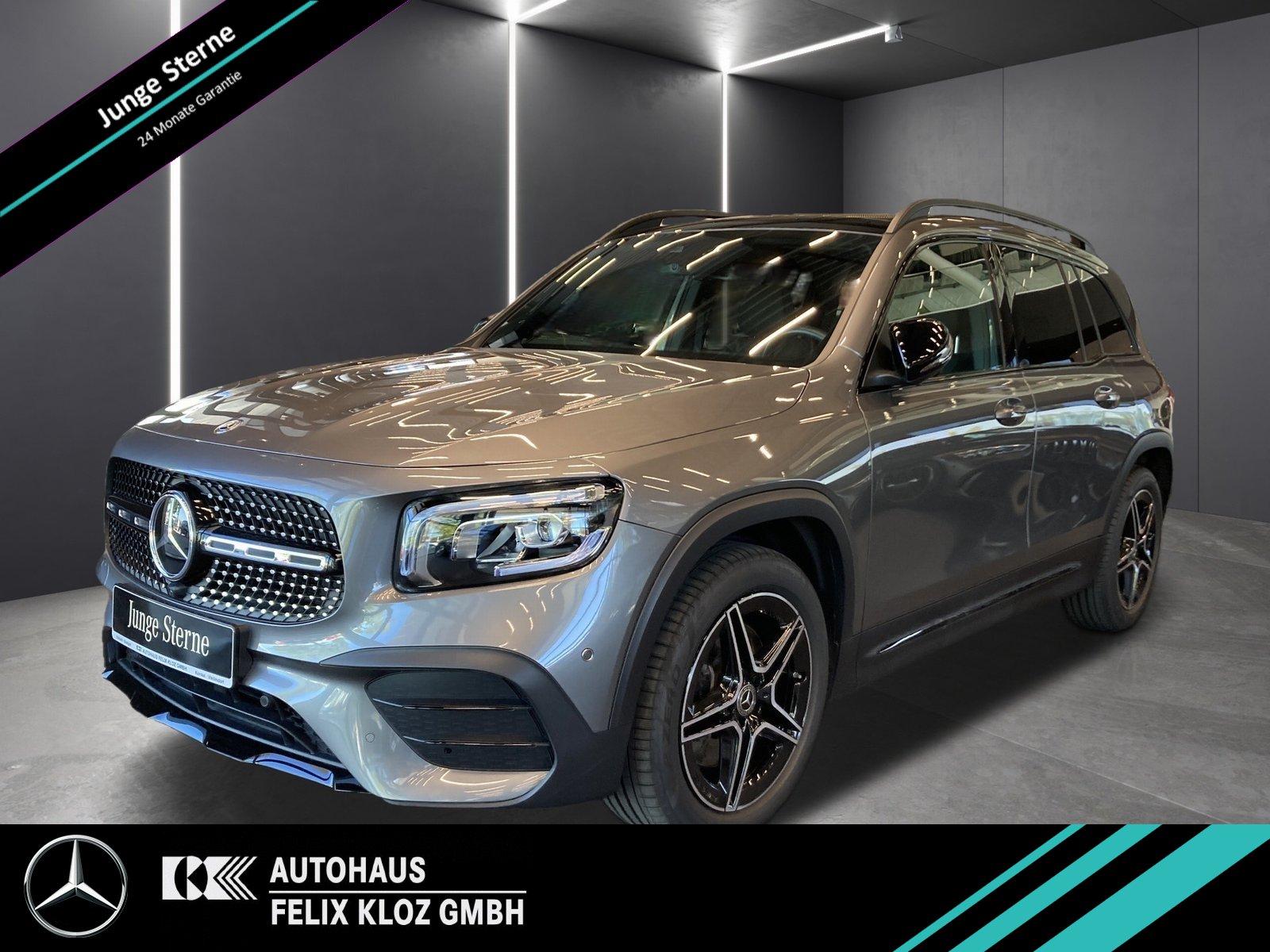 Mercedes-Benz GLB 250 4M AMG Night FAP Pano 360° Memory 19, Jahr 2019, Benzin