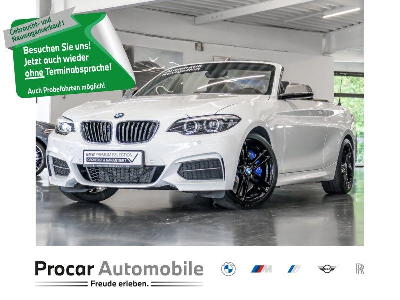 BMW M240i Cabrio Aut MSport 18 Nav Hifi Shz LED PDC Klimaaut, Jahr 2018, Benzin