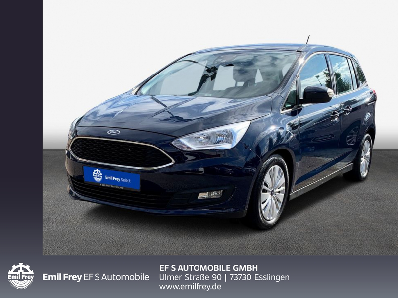 Ford Grand C-Max 1.0 Klima 6 Sitze, Color, Nebel, Alarm, Jahr 2018, Benzin